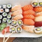 Sundays are for Sushi Nach unserem knapp 10 KMLauf heutehellip